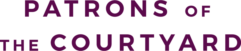 Patrons of the Courtyard logo