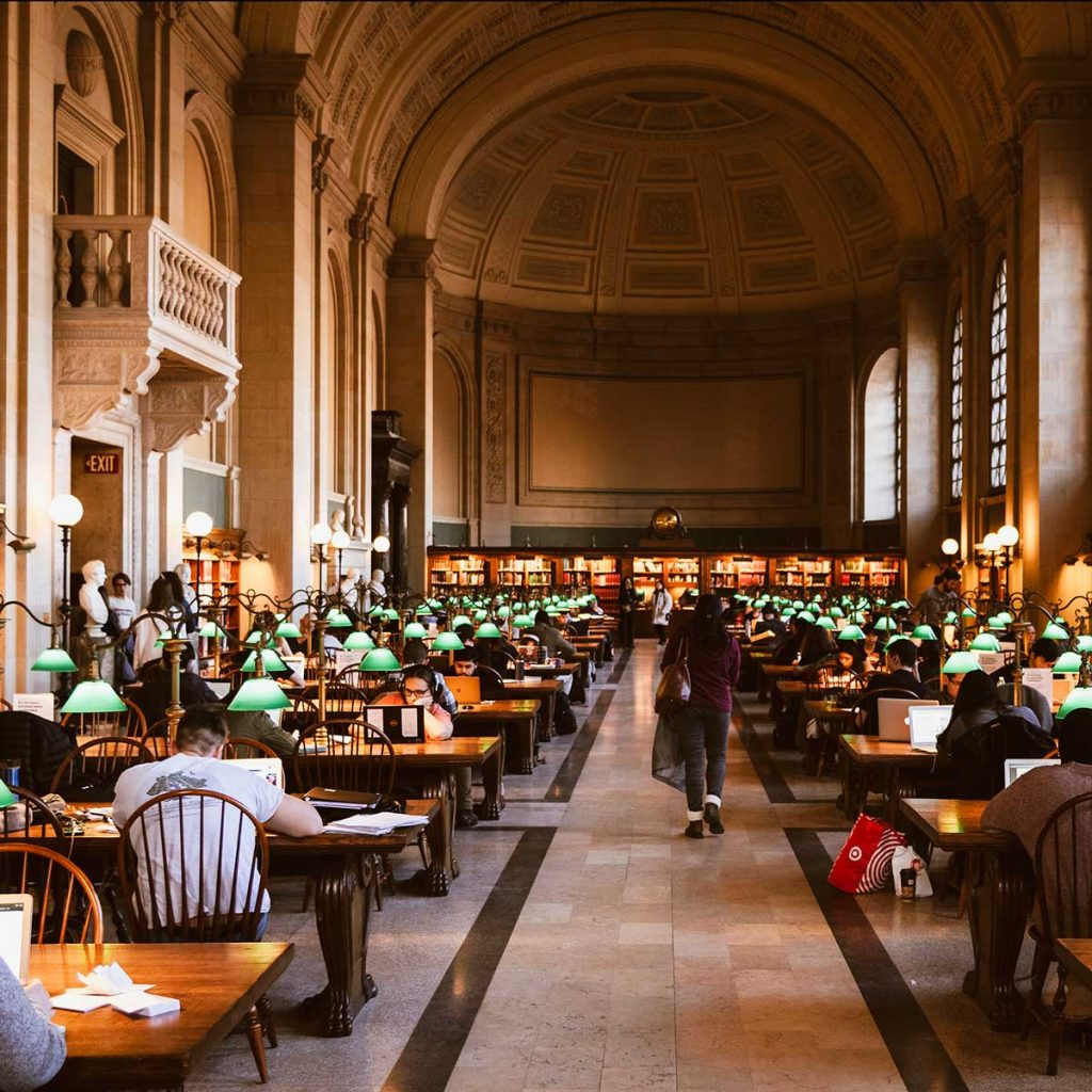 Bates Hall, Boston Public Library