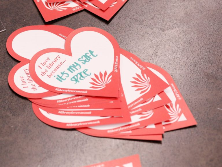 BPL National Library Lovers Month